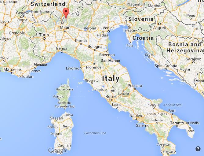 Lake Como Italy Map Lake Como on Map Italy
