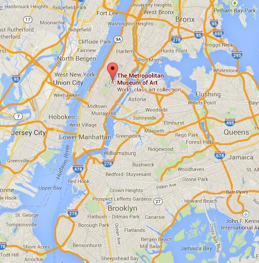 Metropolitan museum of art nyc map pdf