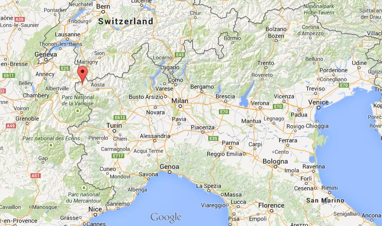 Map Of Northern Italy Where is Courmayeur on map north Italy Map Of Northern Italy