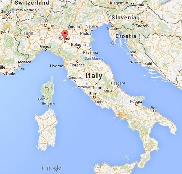 Parma Italy Map Where is Parma map Italy Parma Italy Map