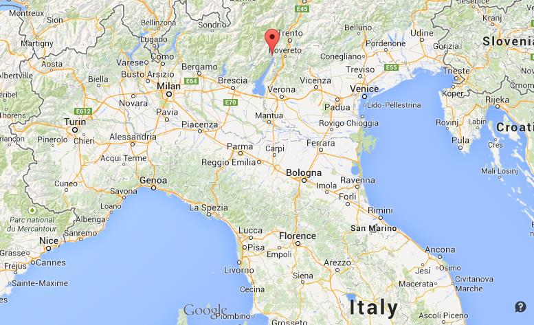 Map Of Northern Italy Where is Riva del Garda map Italy north Map Of Northern Italy