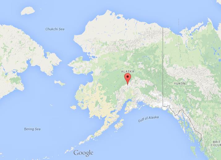 Mount Mckinley Map Where is Mount McKinley on map Alaska