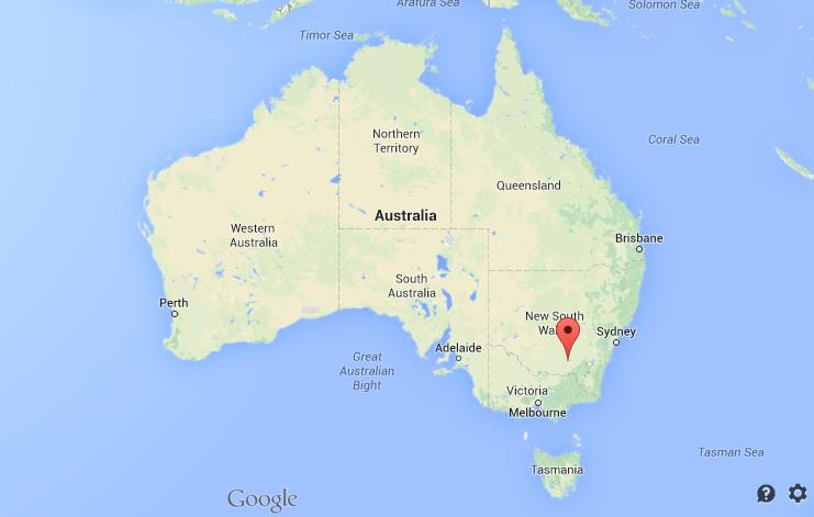 Wagga Wagga Map Where is Wagga Wagga on map of Australia