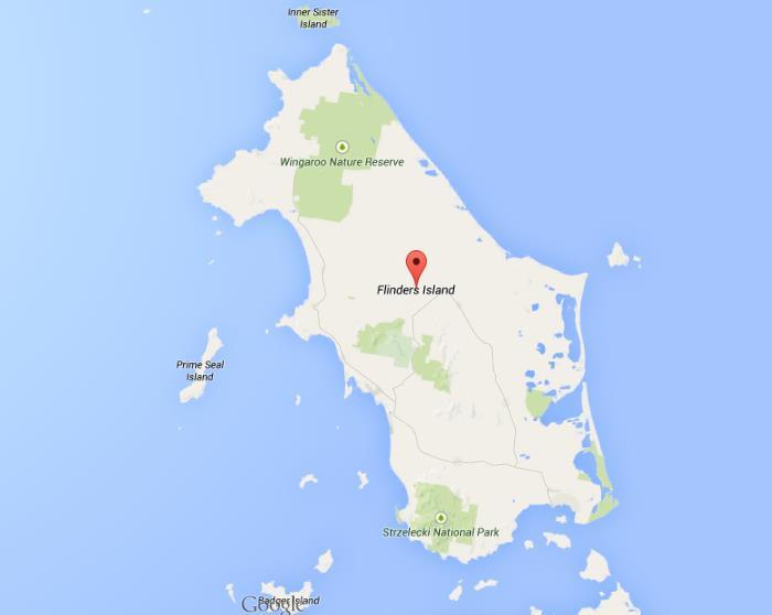 Flinders Island Map Map of Flinders Island Flinders Island Map