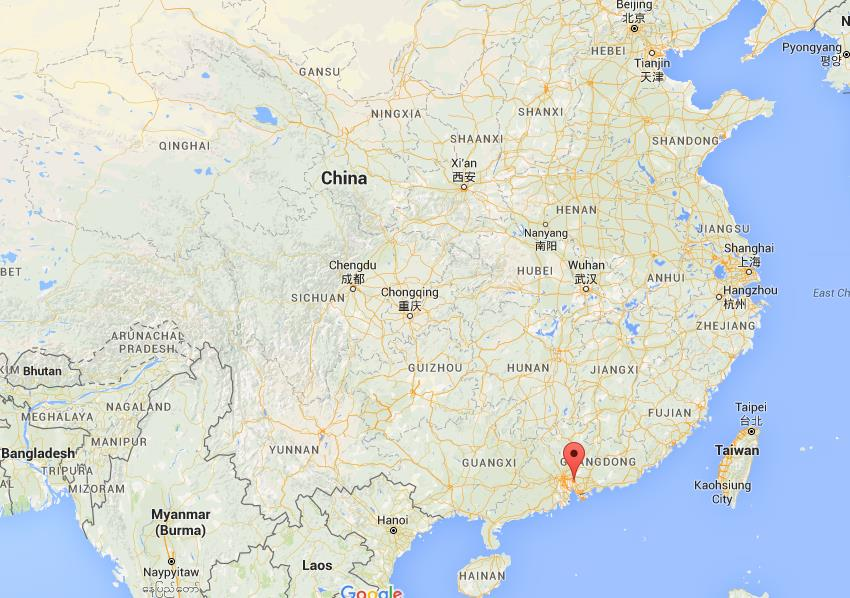 Dongguan China Map Where is Dongguan on map China