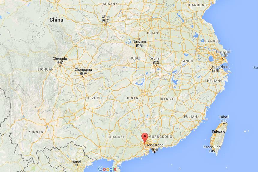 Foshan China Map Where is Foshan on map China