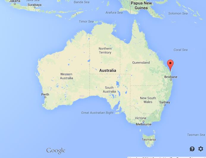 Hervey Bay Map Where is Hervey Bay on Map of Australia Hervey Bay Map