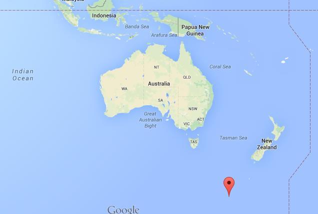 Macquarie Island Map Where is Macquarie Island on map Australia Macquarie Island Map