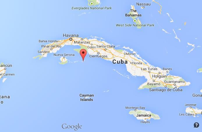 Cayo Largo Map Cayo Largo on Map of Cuba