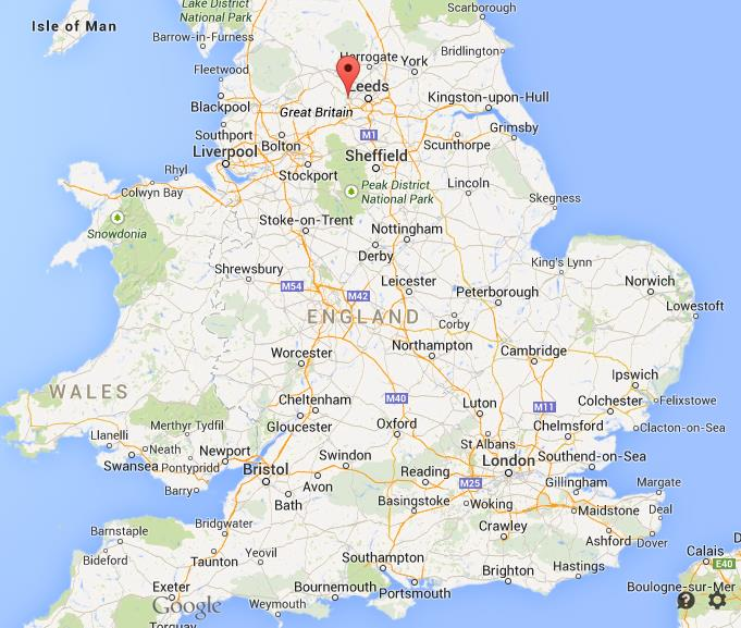Map Of Bradford Where is Bradford on map England