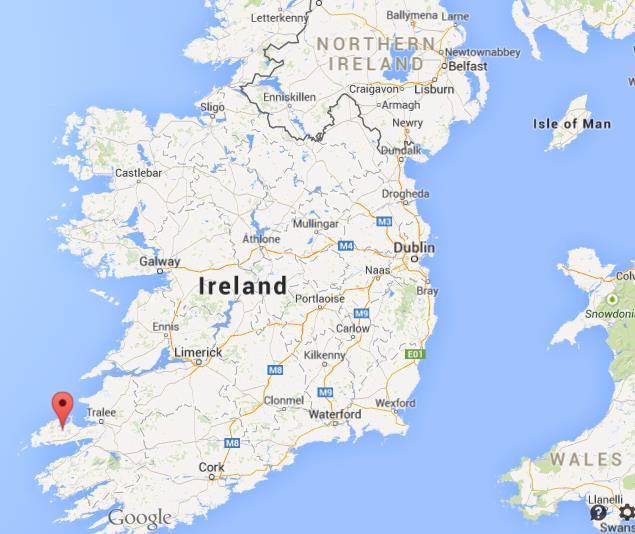 Dingle Ireland Map Where is Dingle Peninsula on map Ireland