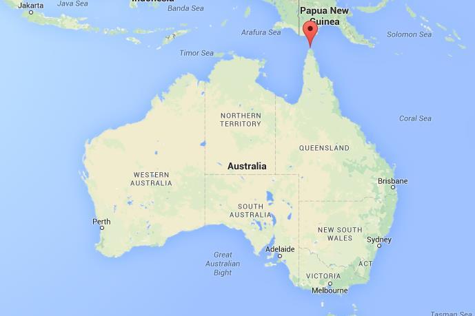 Cape York Map Where is Cape York Peninsula on map Australia Cape York Map