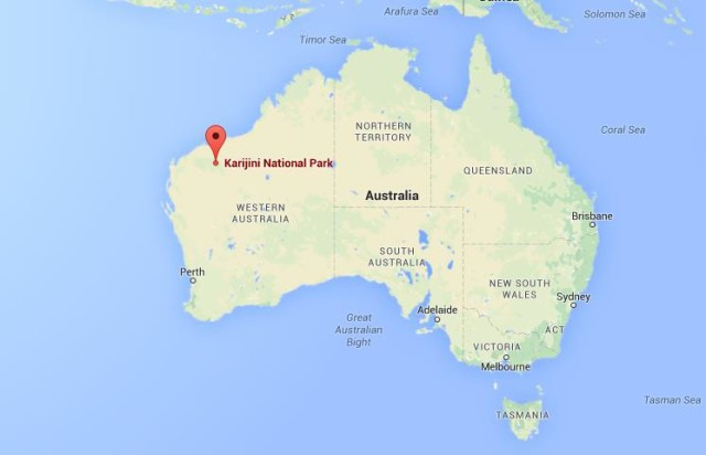 Karijini National Park Map Karijini National Park | World Easy Guides