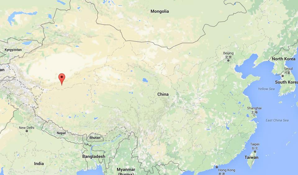 Kunlun Mountains Map Location Kunlun Mountains on map China