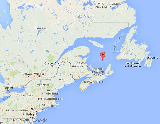 Magdalen Islands Map Where are Magdalen Islands on map Quebec