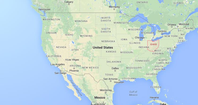 Where Is Ohio On The Map Where is Ohio on map USA Where Is Ohio On The Map
