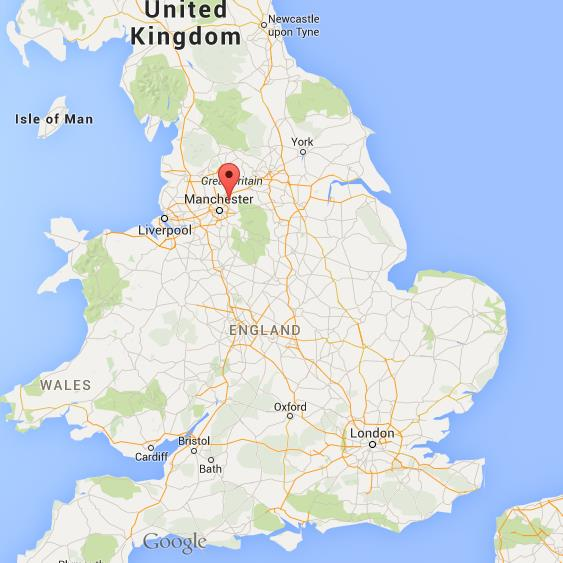 Map Of Oldham Where is Oldham on map England Map Of Oldham