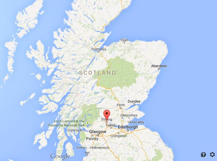 Stirling Scotland Map Where is Stirling map Scotland