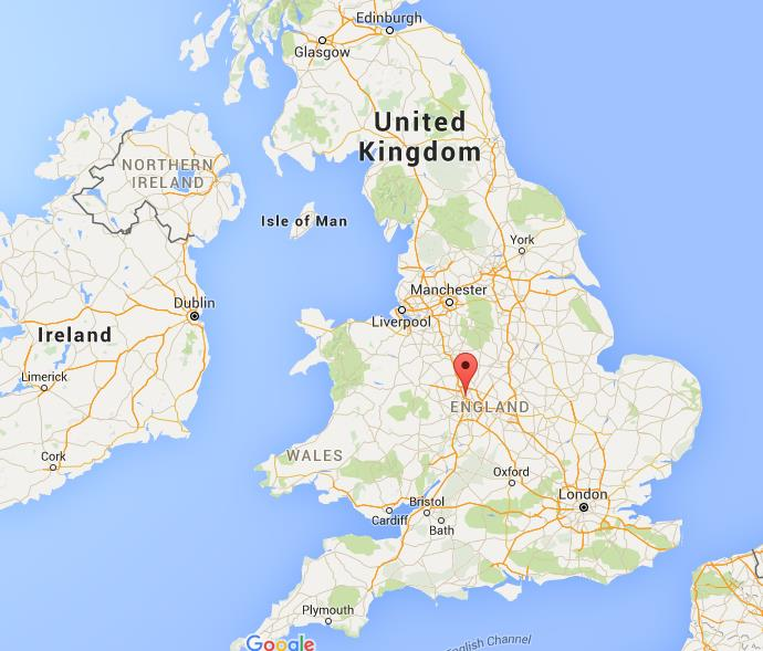 Map Of Walsall Where is Walsall on map England Map Of Walsall