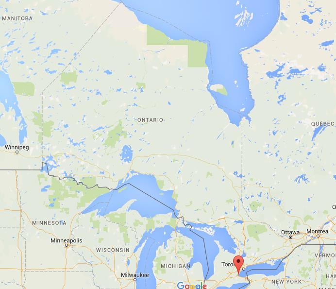 Burlington Ontario Map Where is Burlington on map Ontario