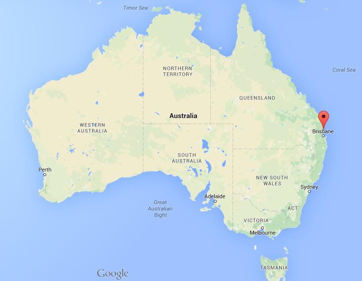 Map Of Caloundra Where is Caloundra on map Australia Map Of Caloundra