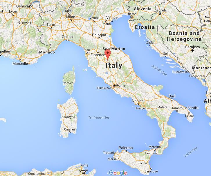 Cortona Italy Map Where is Cortona on map Italy Cortona Italy Map