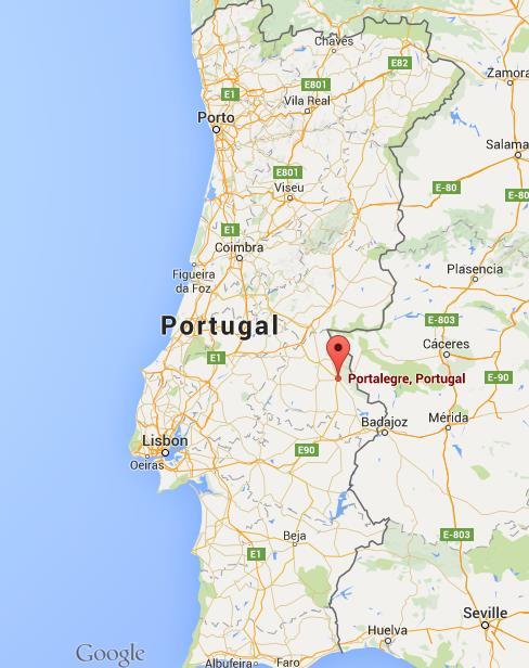 mapa portugal portalegre Where is Portalegre on map Portugal mapa portugal portalegre