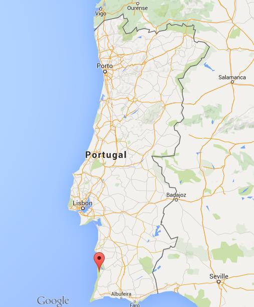 mapa portugal zambujeira Where is Zambujeira do Mar on map Portugal mapa portugal zambujeira