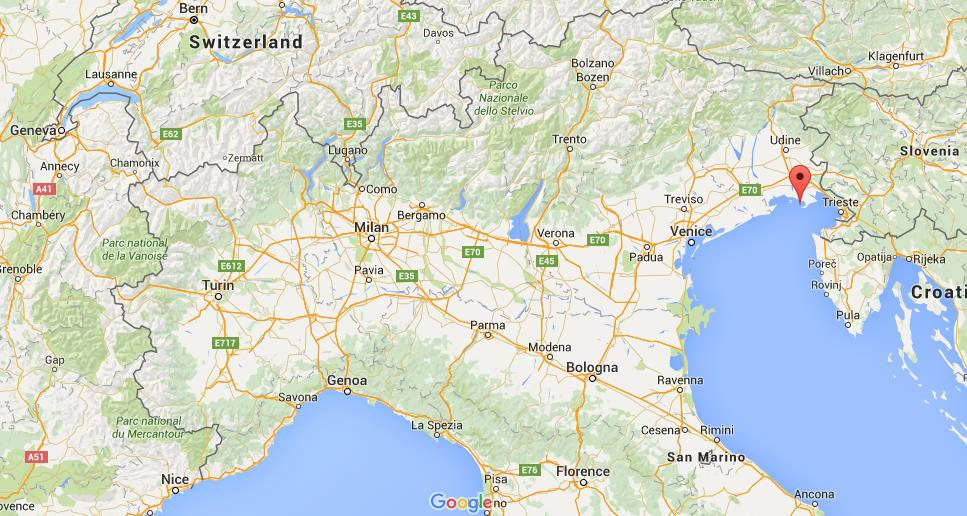 Northern Italy Map Where is Grado on map Northern Italy Northern Italy Map
