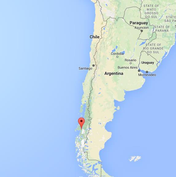 San Rafael Map Where is Laguna San Rafael on map Chile San Rafael Map