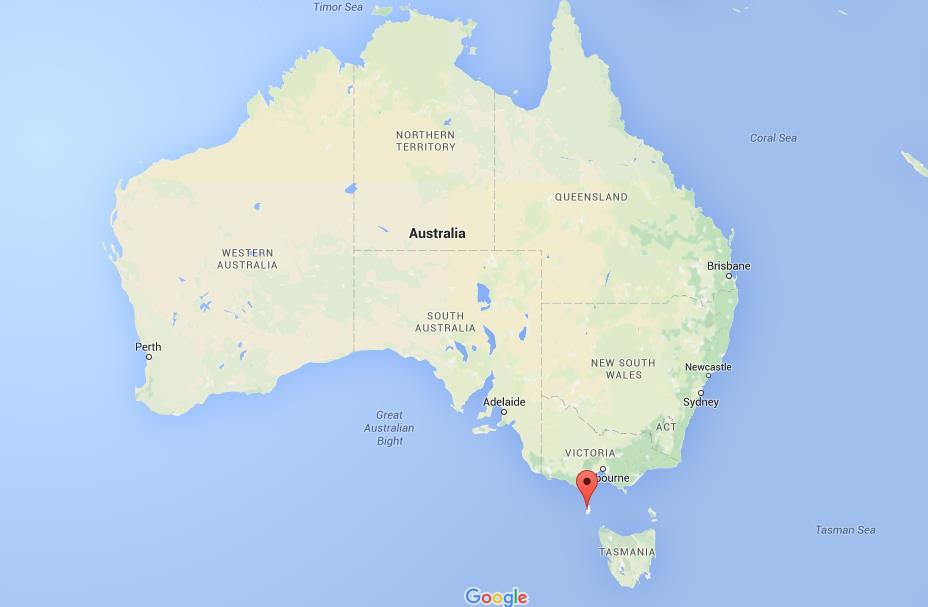 King Island Map Where is King Island on map Australia