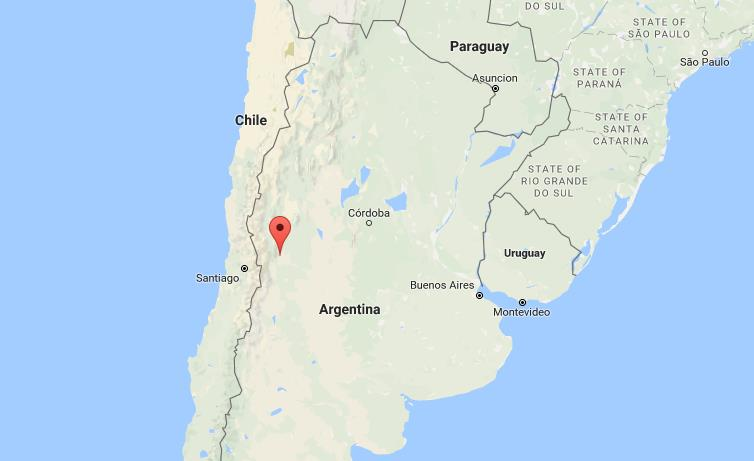 Mendoza Argentina Map where is mendoza on map argentina