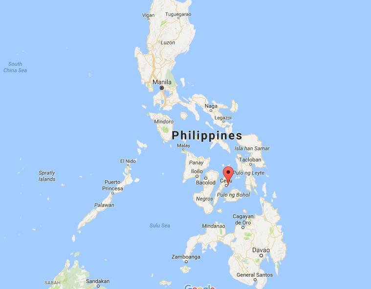 Mactan Philippines Map Where is Mactan Island on map Philippines