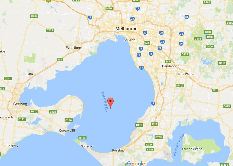 Map Of Port Phillip Bay Map of Port Phillip Bay Map Of Port Phillip Bay