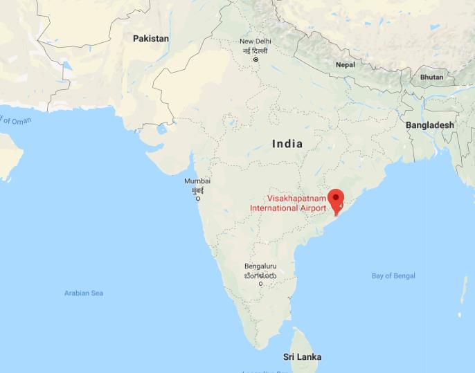 Visakhapatnam In India Map Where is Visakhapatnam on map of India